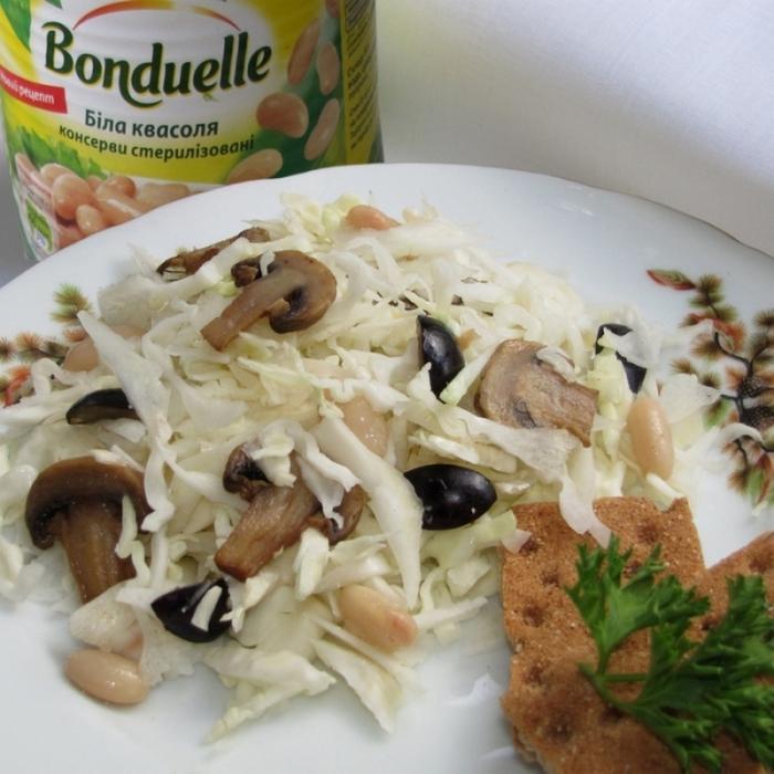 "Легкий овочевий салатик ""Бонжур"""