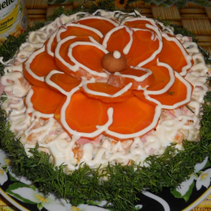 Салат «Маргаритка»